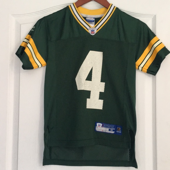 new styles 4d2e2 4fa2c NFL Green Bay Packers Brett Favre Jersey, youth S